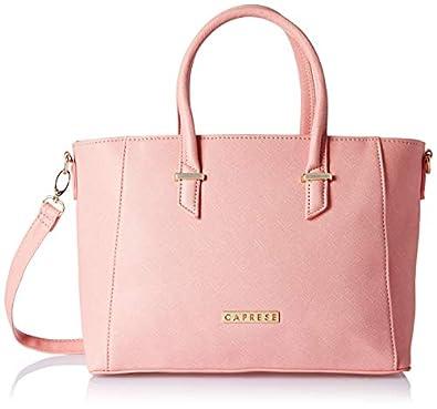 Caprese Porsche Women's Tote Bag (Pink) (Units 1)