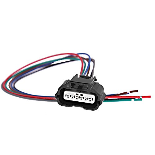 APDTY 756611 Wiring Harness Pigtail Connector 5-Wire Fits Cam Crank Headlight Fuel Injector Engine Control MAP MAF Mass Air Manifold Pressure /& More Replaces 19151498, 13585858
