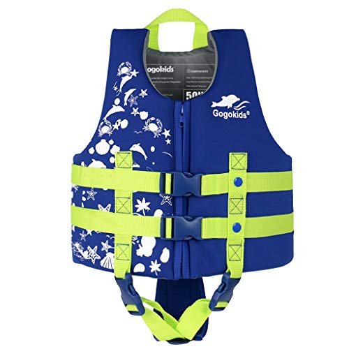 Gogokids Kids Swim Vest Folat Jacket - Boys Girls Floation Swimsuit Buoyancy Swimwear