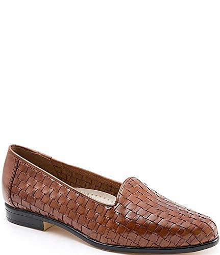 [トロッターズ] シューズ 25.0 cm パンプス Liz Woven Block Heel Loafers Brown レディース [並行輸入品]