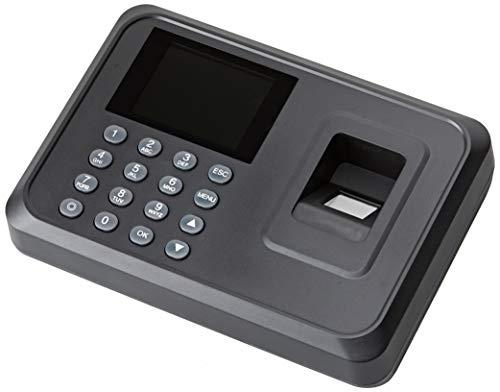 JANDEI - Control De Acceso Para Empleados Mediante Huella Dactilar. Software Incluido. Descarga De Datos Mediante Memoria USB. No Borra Datos Al Quedarse Sin Corriente.