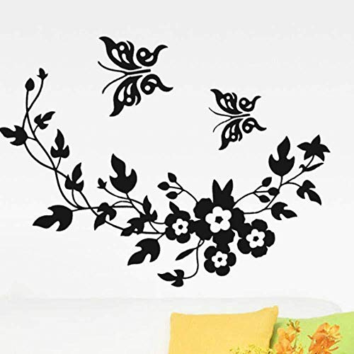 Adhesivo de pared calcomanía de arte mural de vinilo hermosa mariposa extraíble...