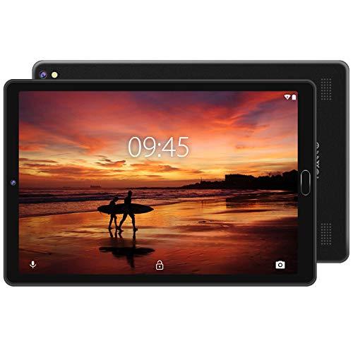 Tablet 10 Pollici 4GB RAM 64GB ROM Android 10 Pro GOODTEL Tablets con Processore 8 Core 1.6GHz   Doppia Fotocamera   WiFi   HD IPS   Bluetooth   GPS   MicroSD 4-128GB, Senza Tastiera Bluetooth - Nero