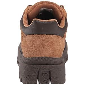Skechers Women's SHINDIGS-Stompin' -Rugged Heritage Style 5-Eye Suede Shoe-Boot Oxford, Tan, 9 M US