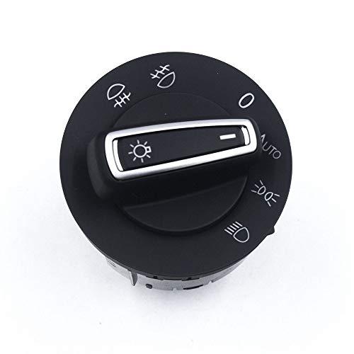 TAYDMEO Para VW T Cross, para Seat Arona Ateca Ibiza Leon Toledo, Faro automático Interruptor de luz antiniebla automática