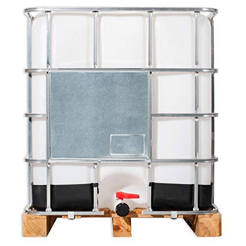 Wilai 1000 Liter IBC- Behälter Wassertank Container GESPÜLT Regentonne Regenwassertank