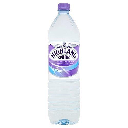 Highland Spring Water Still in Plastic Bottle 1.5 Litre Ref A01057 [Pack 12]