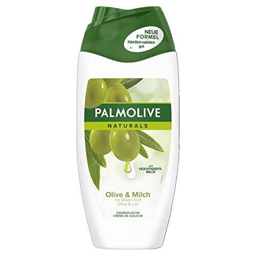 Palmolive Creme-Dusche Olive & Feuchtigkeitsmilch, 6er Pack (6 x 250 ml)