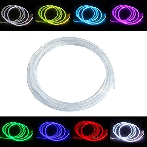 Cavo in fibra ottica con fluorescenza laterale., Transparent, Ф4MM*1M