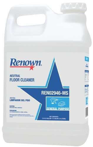 RENOWN GIDDS-109418 Neutral Floor Cleaner, 2.5 Gallon, 2 Per Case - 109418
