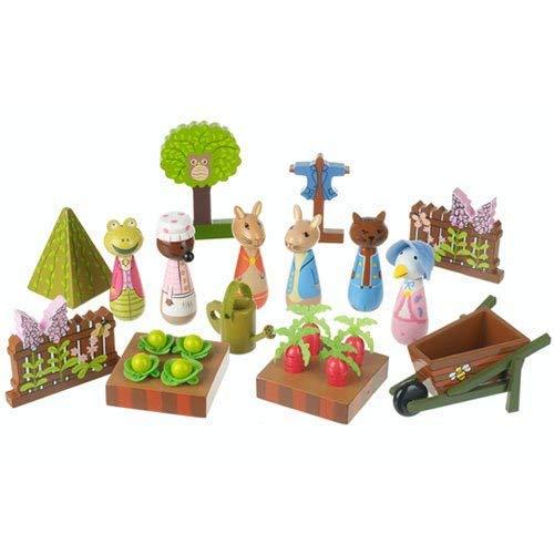 Orange Tree Toys Wooden Peter Rabbit Play Set