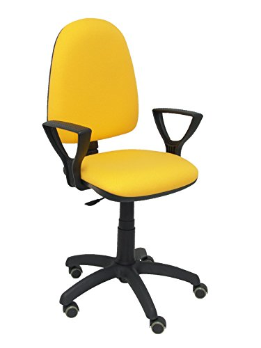 Silla oficina amarilla modelo Ayna