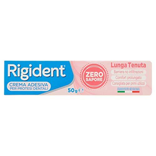 Rigident, Crema Adesiva per Dentiere, Forte Tenuta Tutto il...