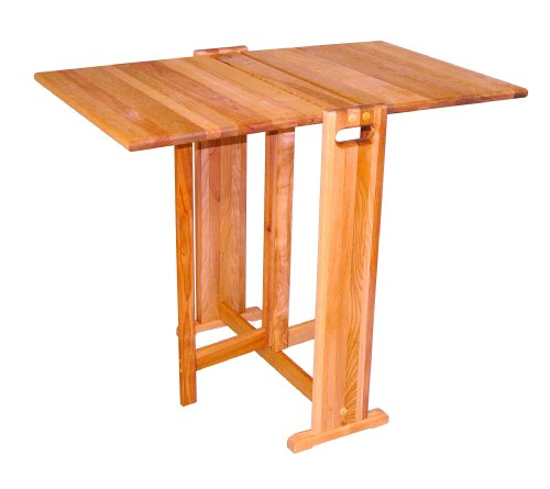 Catskill Craftsmen Fold-A-Way Butcher Block Table