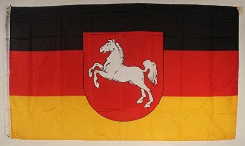 Niedersachsen Flagge Großformat 250 x 150 cm wetterfest Fahne