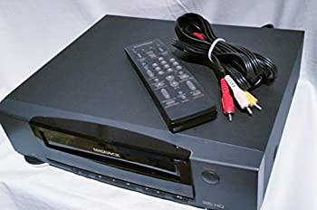 MAGNAVOX Black 4-Head VCR Video Cassette Recorder VHS Tape Player