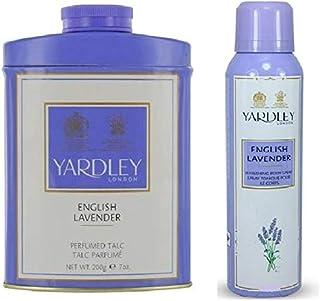 Yardley Lavender Talc with Lavender Body Spray 200ml - 72096LGIFT