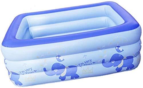 ZA Baignoire Gonflable Baignoire bébé Barrel Plastique Piscine Bain Pliable Seau épais et résistant à l'usure Durable Isolation Doux et Confortable Grand Espace Portable Famille Adulte (Size : M)