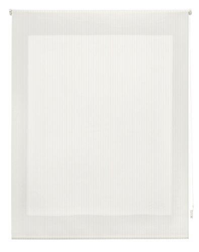 Blindecor Store Enrouleur Rayures, Drap, Beig, 100 x 180 cm
