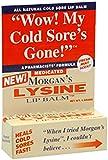 Morgans Morgans Lysine Lip Balm Medicated, 0.17 oz by Jubujub