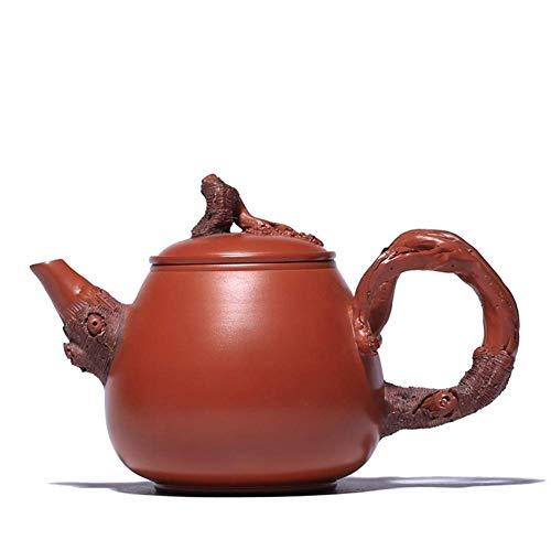 BINGFANG-W Kaffee Wang Alter Teekanne Erz Zhuni handgemachte Teekanne Stakes Reflux-Geschenk Tee-Sets