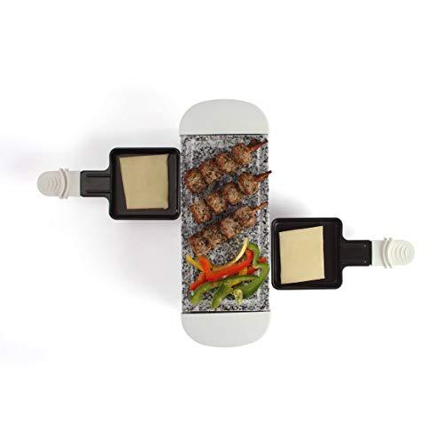 LIVOO DOC156W Appareil à Raclette 2 Personnes | Grill...