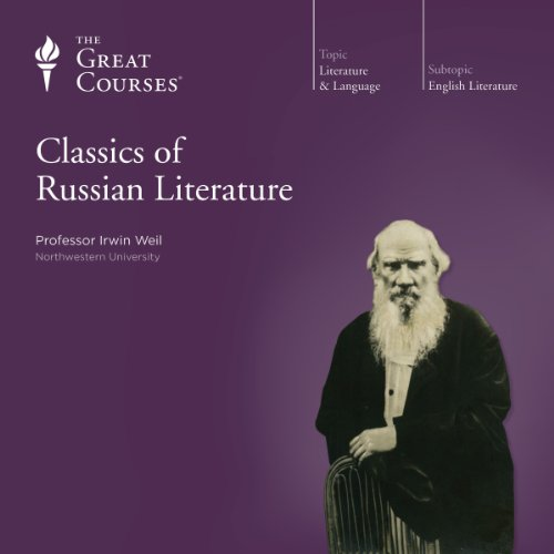 Classics of Russian Literature audiobook cover art