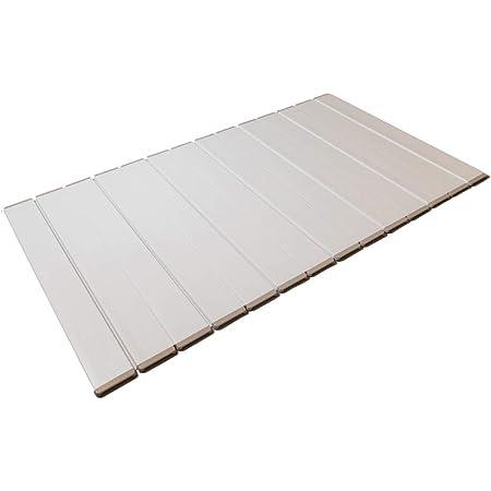 東プレ 折りたたみ式風呂ふた ラクネス 80×139cm アイボリー W14