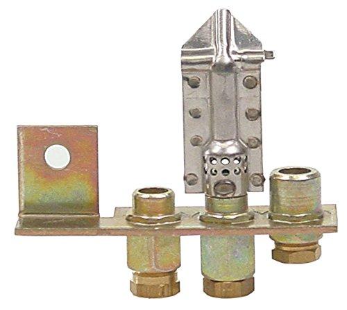 Polidoro SERIE700 - Quemador de encendido para horno Baron Serie 900, 3 focos, 6 mm