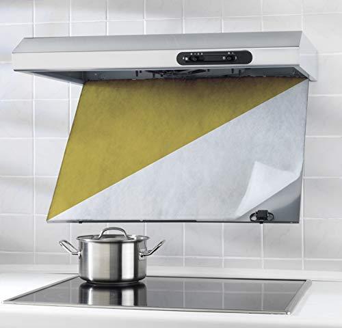 Wenko 2201010100 Dunst-Fettfilter - für alle gängigen Abzugshauben, Kunststoff - Polyester, Weiß