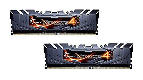 G.SKILL Ripjaws 4 Series F4-3000C15D-16GRK DDR4 3000 MHz Memoria RAM 16 GB Memory Kit - Nero