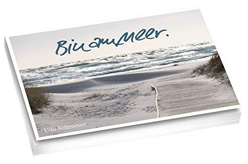 Bin am Meer - Postkartenset: Postkartenbuch mit 20 verschiedenen Motiven