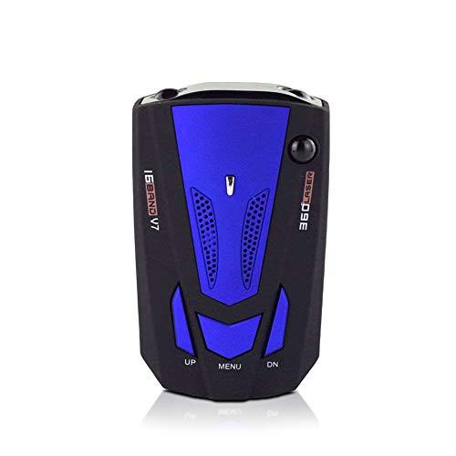 KINJOHI Auto Radarwarner, Radar Detector, Sprachalarm und 360 ° Auto-Geschwindigkeitsalarmsystem mit Erkennung, Radarwarner für Autos