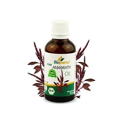 zertifiziertes Bio kaltgepresst Amarant Öl 50ml biopurus