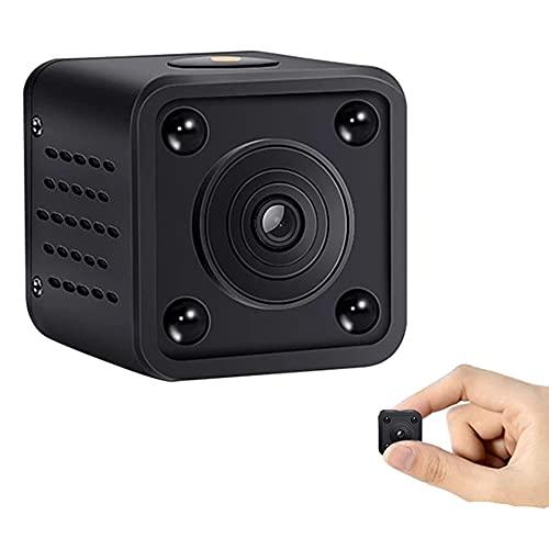 CHENPENG Mini cámara espía, cámara Oculta WiFi 1080P, con visión Nocturna y detección de Movimiento, pequeña cámara de Seguridad encubierta para el hogar/automóvil/Interior/Exterior