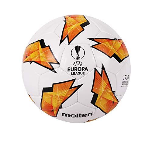 Molten Replica dell' UEFA Europa League–1710Modello Official Match Ball, Unisex, F5U1710-G18, Orange, Taglia 5