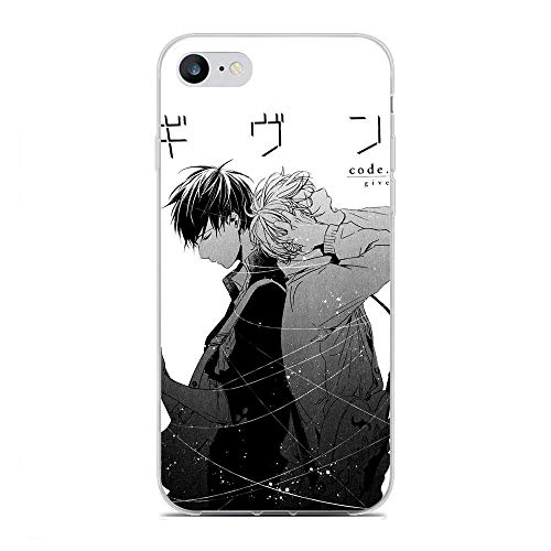 Mosku Ultra Thin Clear Soft Rubber Protect Case Cover for Apple iPhone 6 Plus/6s Plus, Given-Guitar Mafuyu-Ritsuka 7