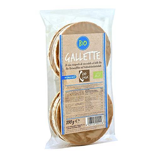 Bio Gallette di Mais Ricoperte di Cioccolato al Latte Bio