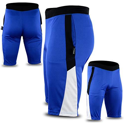 Sparta Wear Herren Short Gr. M, blau/weiß