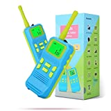 OMWay Kids Walkie Talkies Toys for 3-10 Year Old Boys, Cool Christmas Birthday Easter Gifts for Boys Age 4-9, Stocking Stuffers for Boys, Kids Games for Outdoor Yard (2 Pack).…
