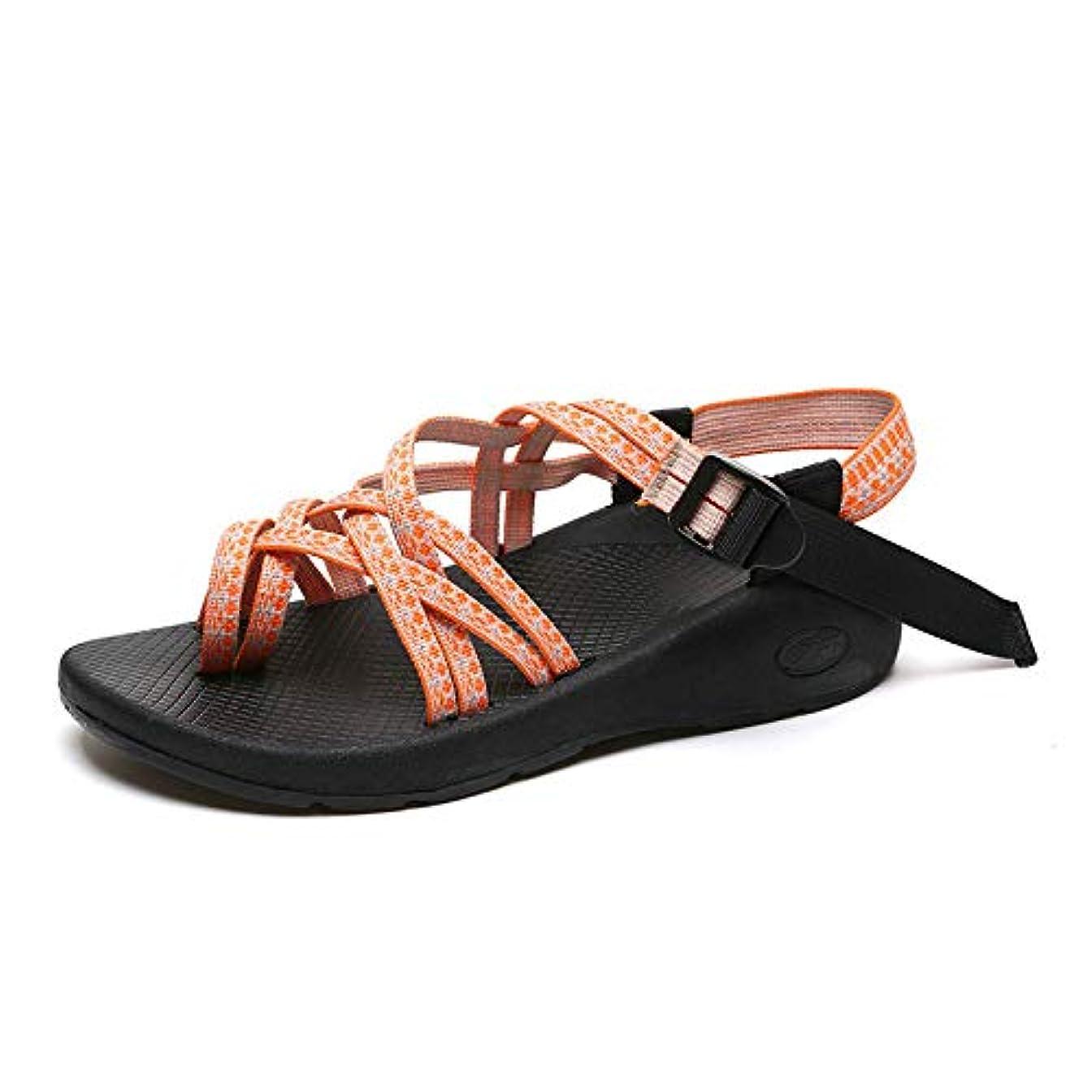 いつハシー振るうサンダル レディース サンダル 歩きやすい 旅行 女の子 サンダル 夏/ファッション/カジュアル/レディースサンダル/ファッション靴 (42サイズ、26cm)