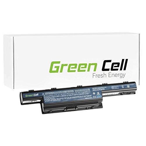 Green Cell® Extended Serie Batería para Acer Aspire E1-772G-54208G1TMNSK Ordenador (9 Celdas 6600mAh 10.8V Negro)