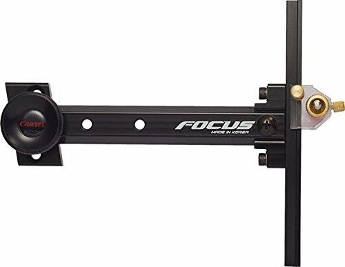 Cartel Archery Sight Junior Focus for Recurve Bows RH/LH Bl