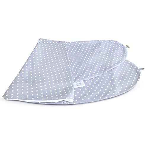 Bamibi®Kissenbezüge Schwangerschaft und Stillzeit Multifunktional, 100% Baumwolle, abnehmbar und waschbar(Punkte)
