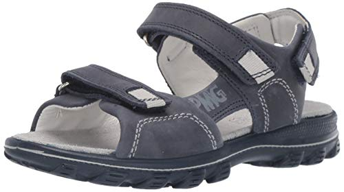Primigi Pra 33961, Sandali con Cinturino alla Caviglia Bambino, Blu (Blu Chiaro 3396111), 29 EU