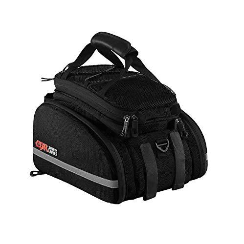 Fantastic Deal! YUYAXBG Fashion Rear Bicycle Pannier Bag Bike Rear Seat Trunk Bag The Bags on Both S...