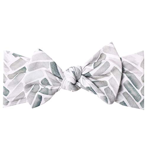"""Baby Stretchy Soft Knit Headband Bow""""Alta"""" by Copper Pearl"""