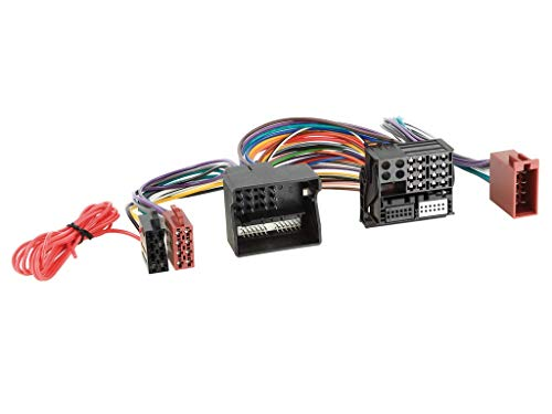Adapterkabel ISO Einspeisung/Parrot FSE Adapter für Audi, Seat, Skoda, VW, voll belegt (Quadlock)