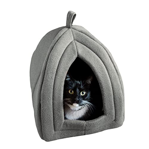 PETMAKER Igloo Pet Bed Collection - Soft Indoor Enclosed Covered...