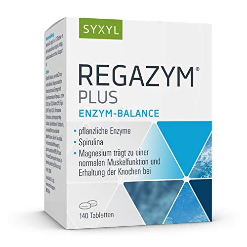 SYXYL Regazym Plus Tabletten / Nahrungsergänzungsmittel mit Magnesium für eine normale Muskelfunktion und zur Erhaltung der Knochen / 140 Tabletten im Blister